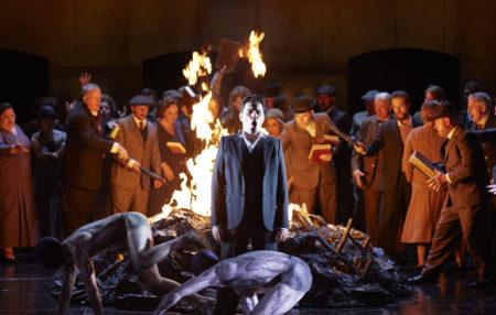 King Roger Opera Australia THE F bonfire