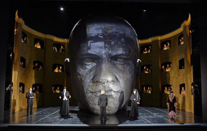 King Roger Opera Australia THE F head