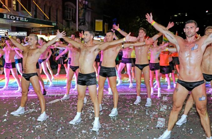 Mardi Gras parade Sydney THE F 1