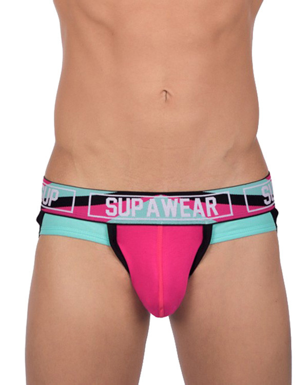 Supawear Vortex Jock (Magenta), at Daily Jocks - RRP $34.53