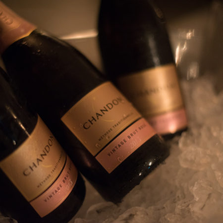 Chandon bottles champagne
