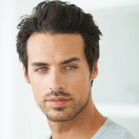 Hot man with nice hair