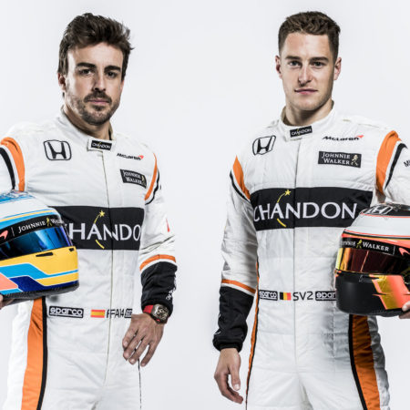 Fernando Alonso and Stoffel Vandoorne THE F