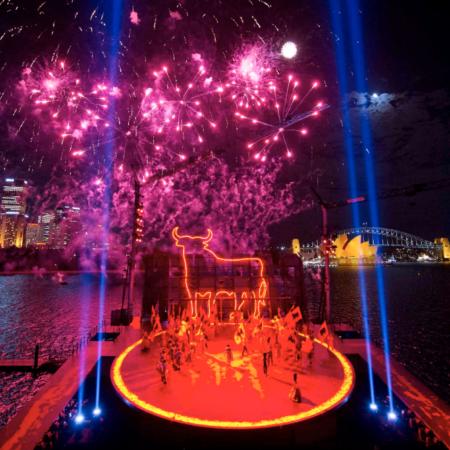 Handa Opera Sydney Harbour Carmen THE F fireworks