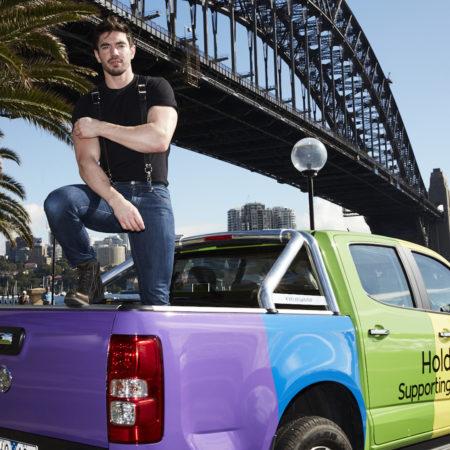 Holden Sydney Gay Lesbian Mardi Gras 'Mardi Cars', THE F