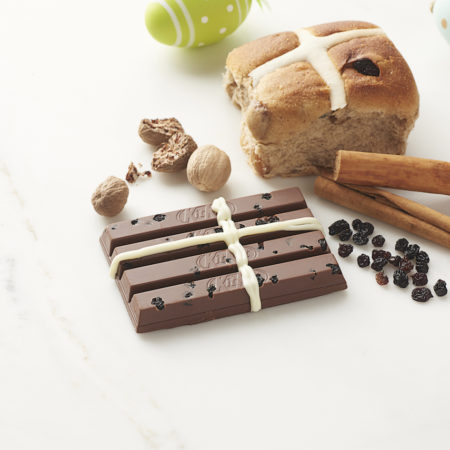 Hot Cross Bun KitKat THE F