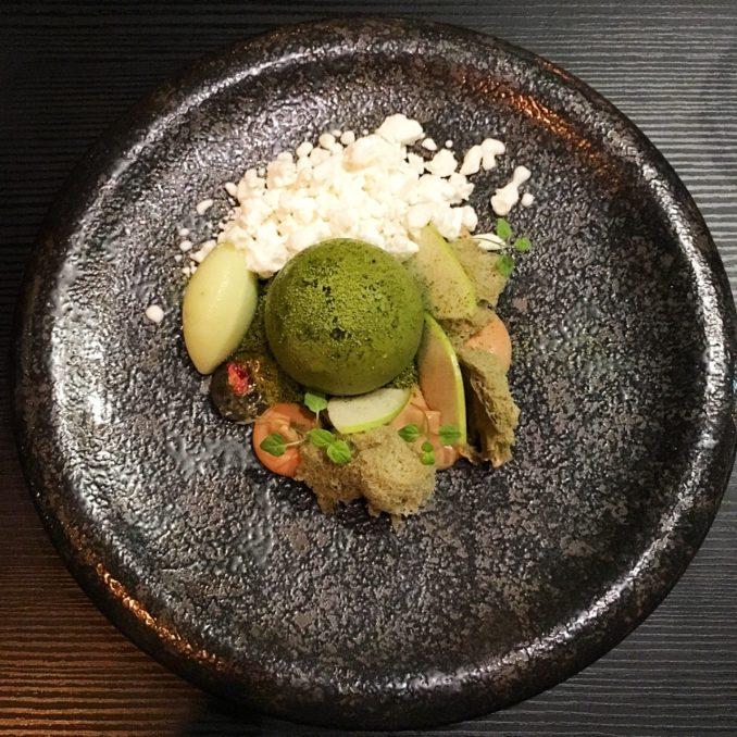 Koi Dessert Bar moss dessert