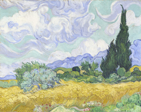 NGV Vincent Van Gogh in Van Gogh and the Seasons THE F 5
