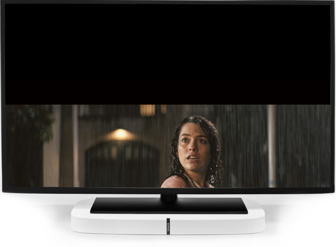Sonos Playbase on TV