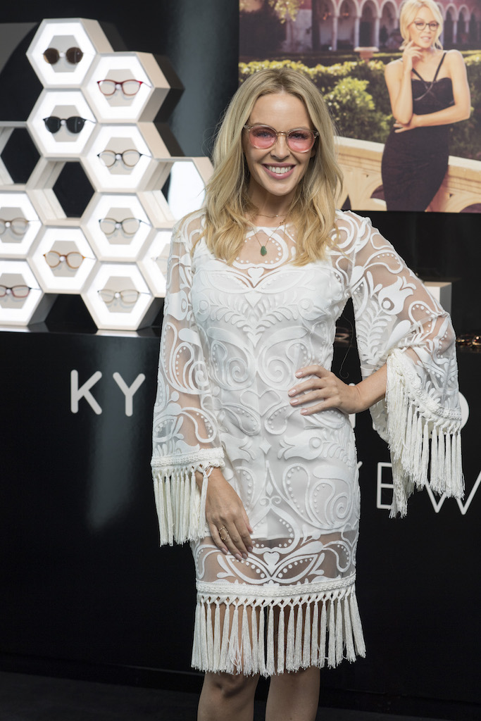 Specsavers_Kylie Minogue Eyewear launch_Kylie Minogue
