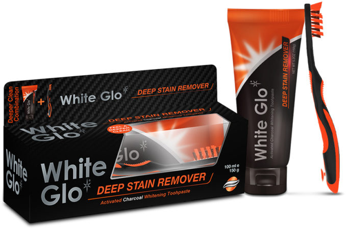 White Glo Charcoal
