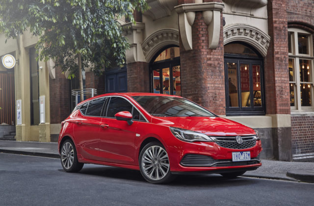 2017 Holden Astra THE F car test drive