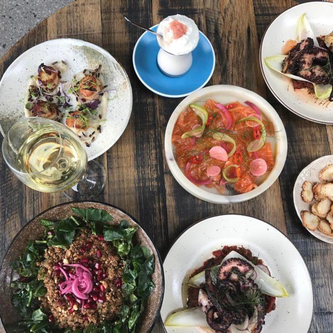 Anason table Turkish food