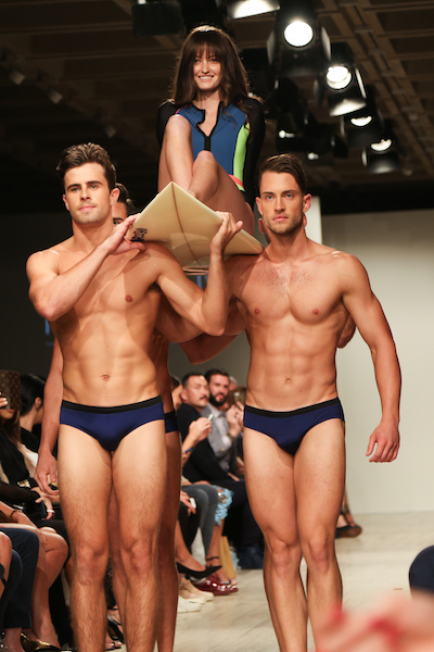 Fashion Palette Sydney 2017 THE F sexy men nude