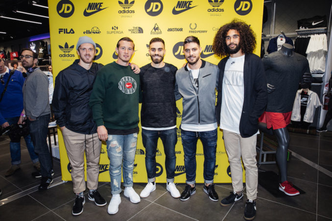 JD Sports Melbourne Central THE F 1