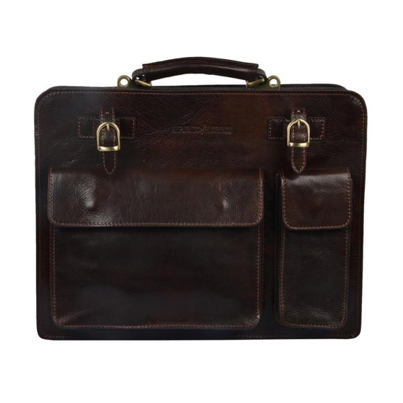 Munich choco briefcase