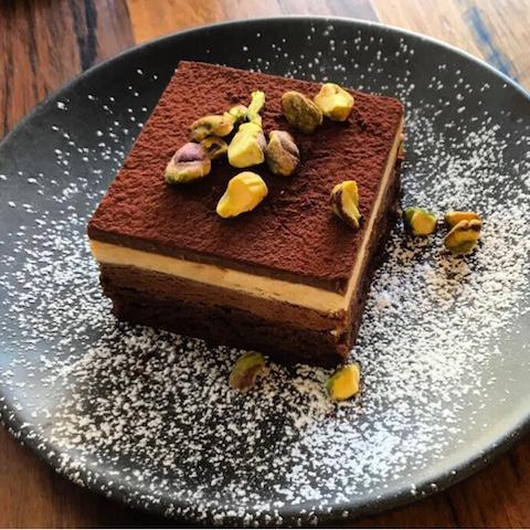 Bake Bar Sydney brunch cake THE F