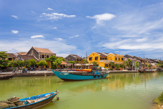 Hoi An is an ancient city in Vietnam and is classified as UNESCO Heritage