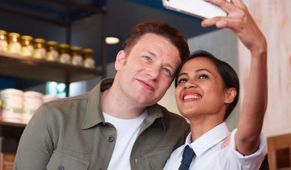 Jamie Oliver Italian selfie