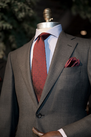 MJ Bale Kingston Collection suiting THE F 2