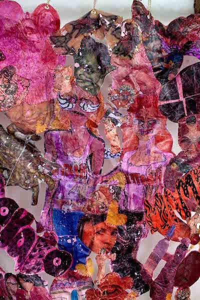 Screen of flesh artwork