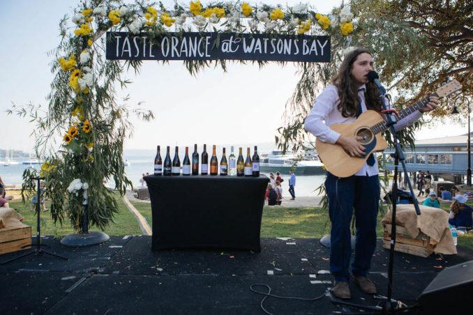 Singer at Taste Orange Food & Wine Festival_Watsons Bay Boutique Hotel_Photographer Sam Venn-5718