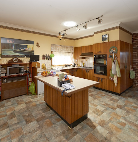 Cherie Barber Marsfield kitchen before