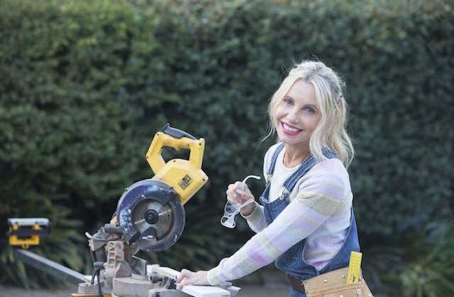 Cherie Barber renovating
