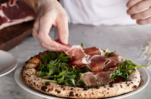 Da Mario Rosebery prosciutto pizza recipe