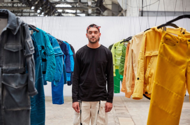 Gstar Raw research Aitor Throup Paris Fashion Week 2