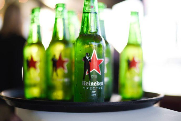 Heineken tray