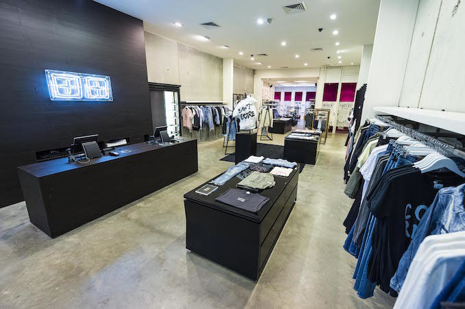 Ksubi shop Paddingtonentrance