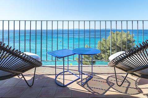 Le Bailli de Suffren hotel France Mediterranean view