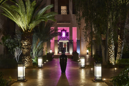 Movenpick Mansour Eddahbi Hotel Marrakech entrance