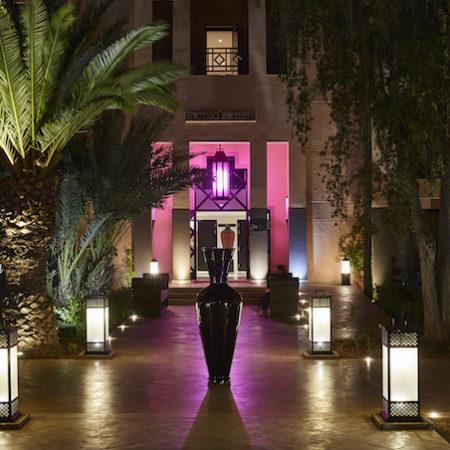 Movenpick Mansour Eddahbi Hotel Marrakech entrance