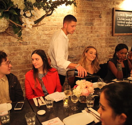 Mrs Sippy Double Bay Chefs Table Sydney table dinner