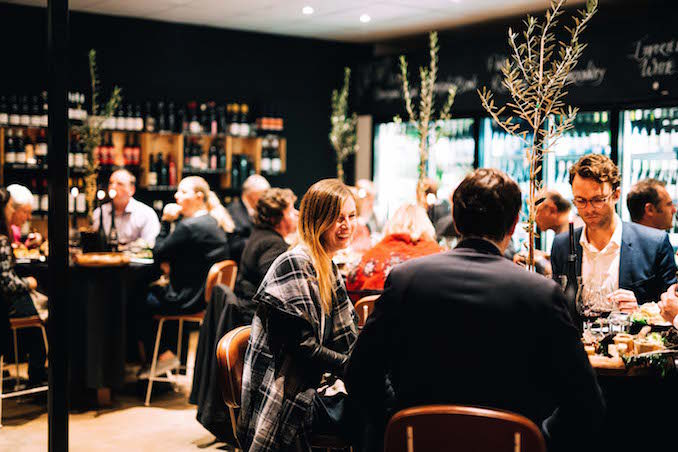 Newport Merivale wine dinner 1