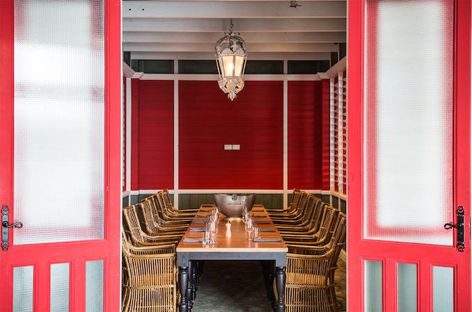 Nola private dining room Sydney