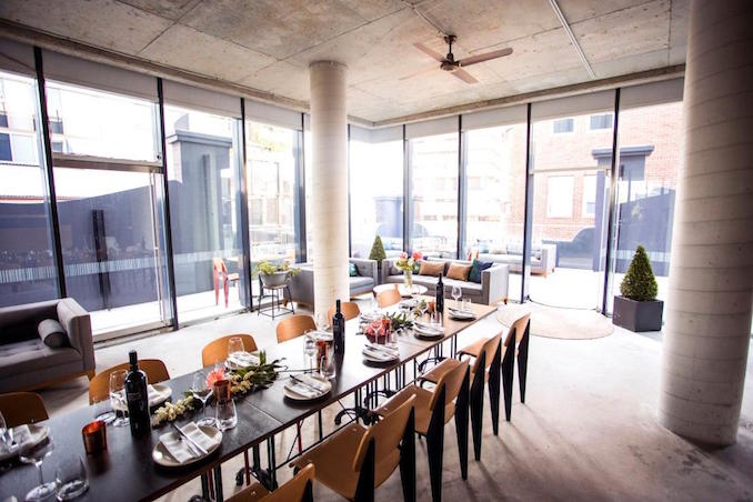 Private Kitchen private dining room Sydney