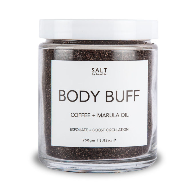SALT By Hendrix Body Buff – Coffee + Marula Oil