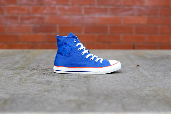 Bata Bullets Heritage high top sneaker blue high top