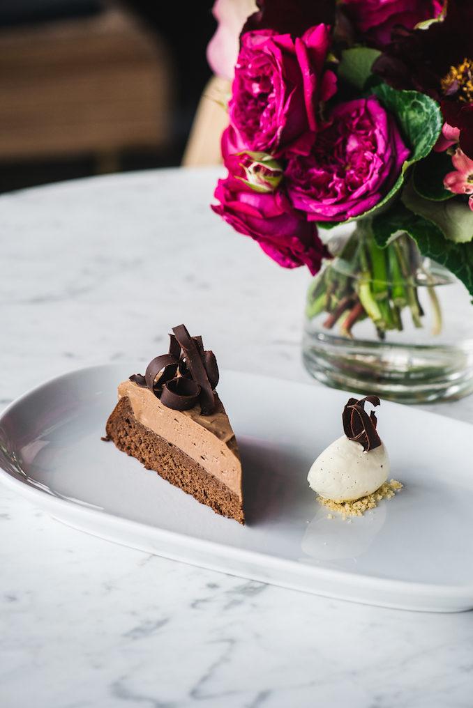 Bistro Moncur chocolate cake