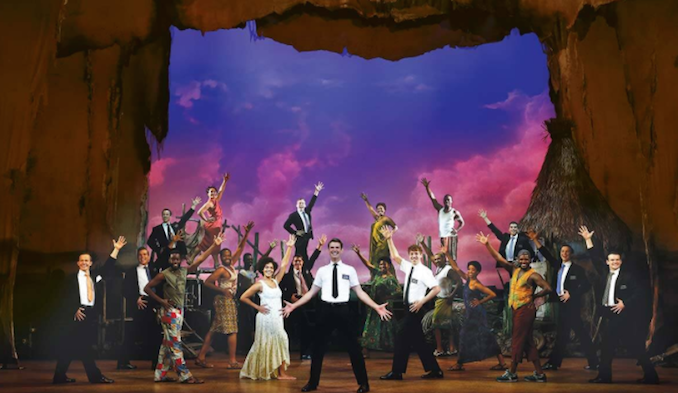 Book of Mormon Helpmann Awards Best Musical 4
