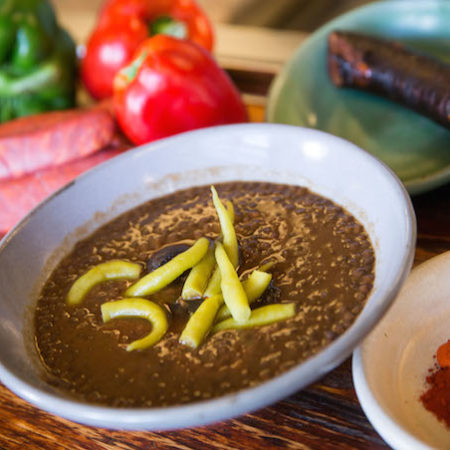 Chef Frank Camorras Spanish lentil soup recipe