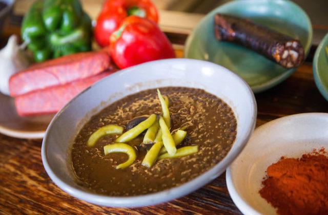 Chef Frank Camorras Spanish lentil soup recipe