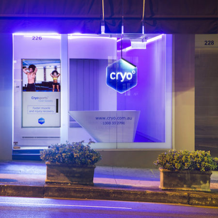 Cryo cold freezing therapy Sydney 2