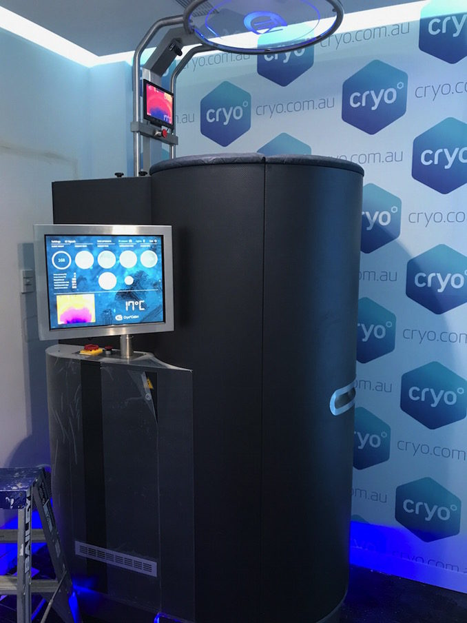 Cryo cold freezing therapy Sydney 6