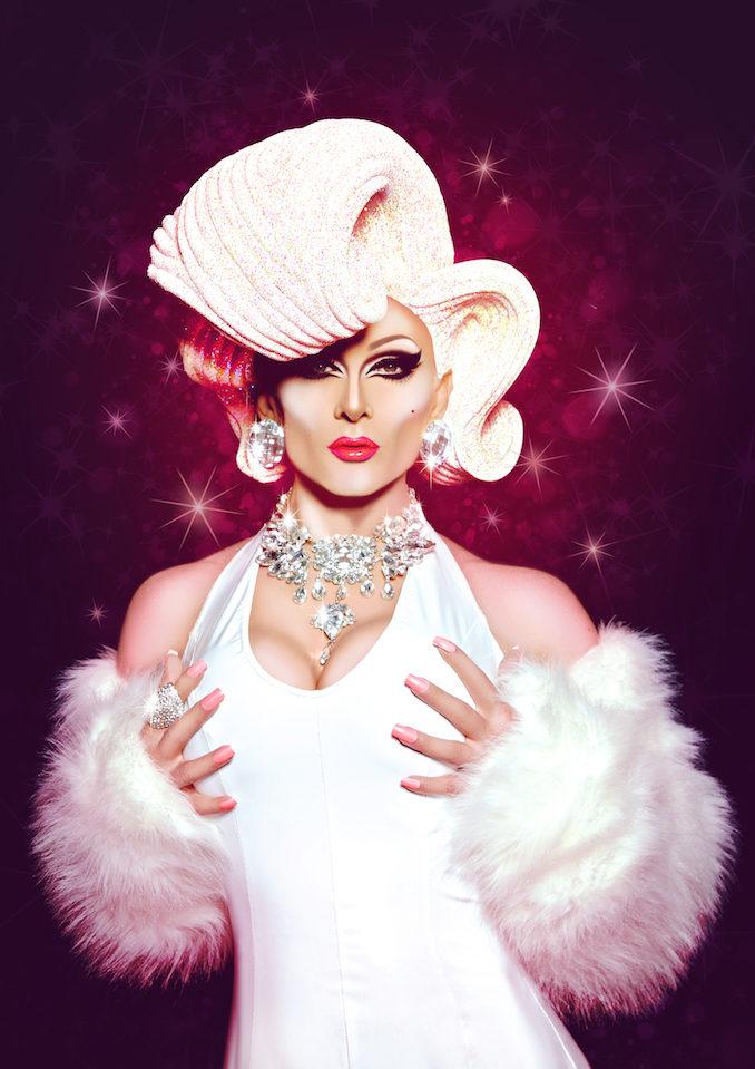 DJ Kitty Glitter drag queen glamour