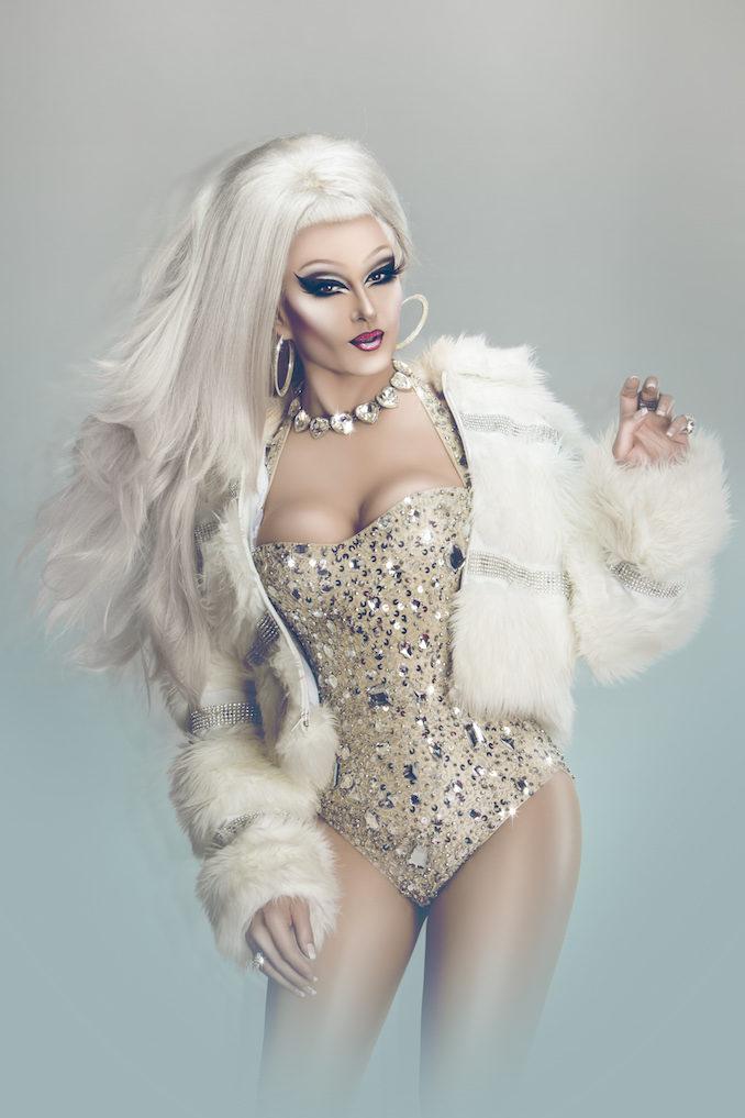 DJ Kitty Glitter drag queen ice
