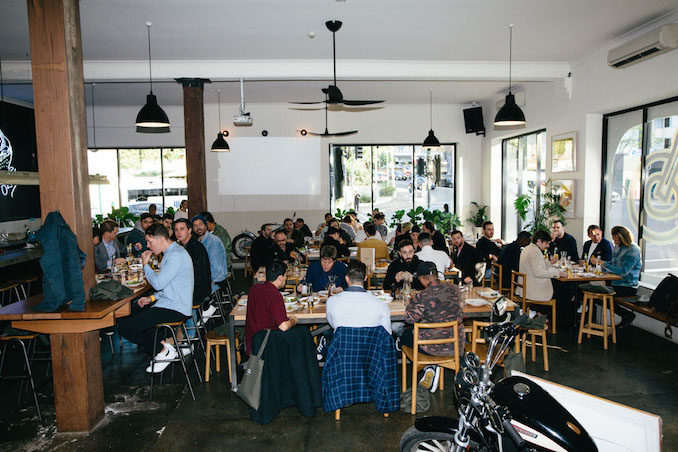 Glue Store Deus Ex Machina Barney Cools bloke lunch Sydney lunch